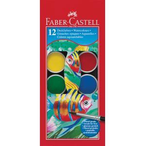Barvice vodene FABER-CASTELL 12/1