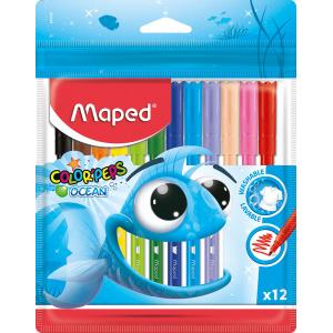 Flomastri MAPED Ocean, 12/1 PVC