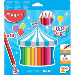 Barvice MAPED Color'Peps Maxi 18/1