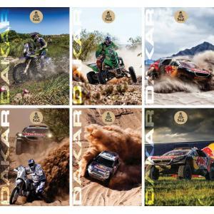 Zvezek Dakar A4 črte z robom