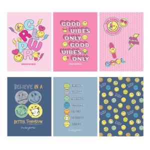 Zvezek Smiley A4 brezčrtni
