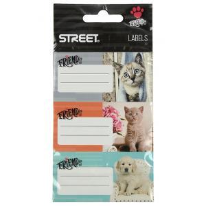 Etikete za zvezke Street Friends 9/1